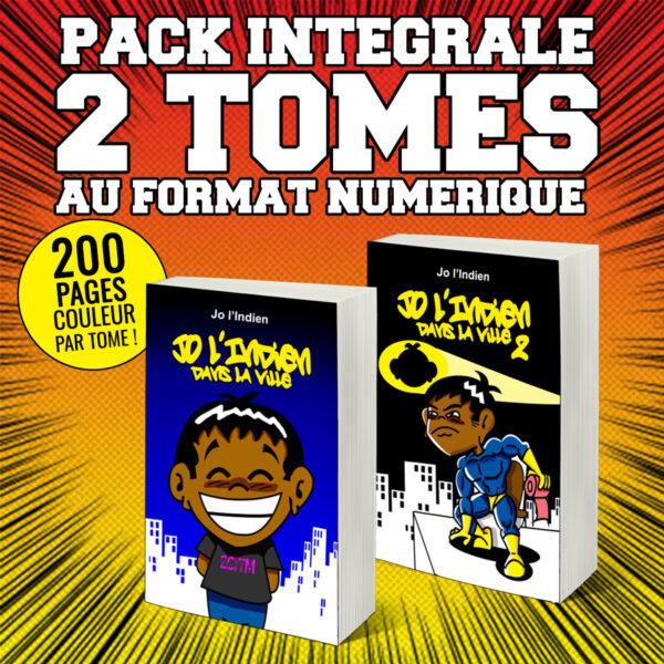 Pack 2 Tomes Jo L'Indien dans la ville